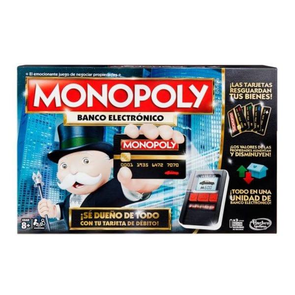 Nuevo Monopolio Banco electrónico