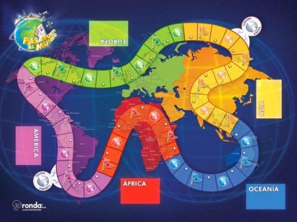 Pasaporte al mundo juego