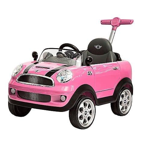 Push Car Mini Cooper Prinsel Rosado