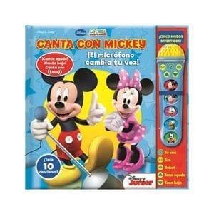 Canta con Mickey Microfono con Sonido