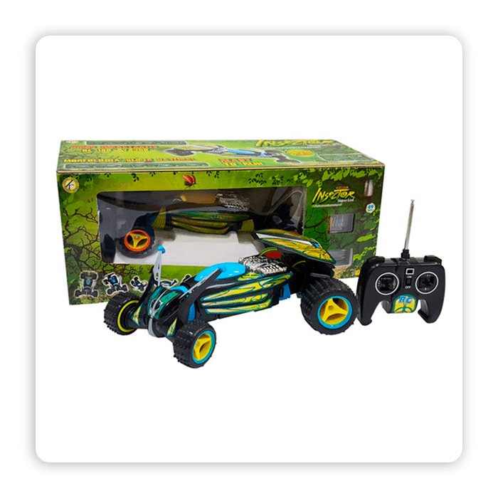 Carro A Control Remoto Insector Rav Toys