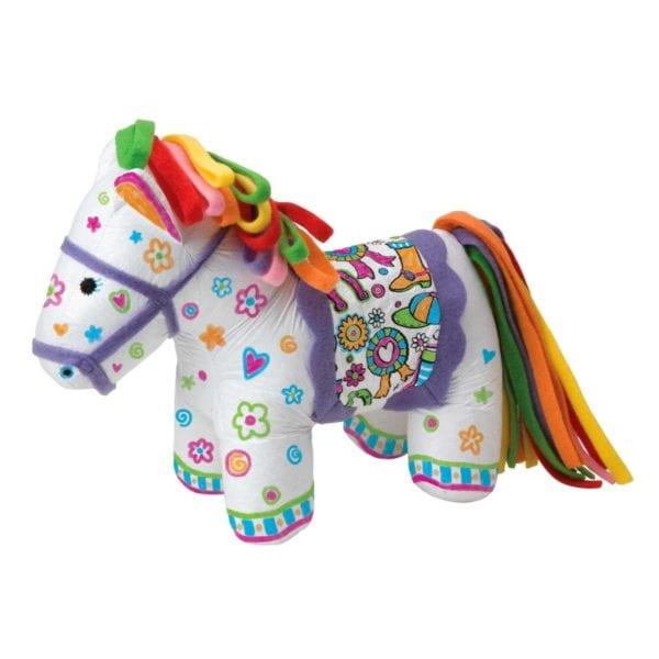 Pony Lavable y coloreable