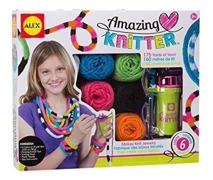 Alex Knitter Tejedora para niñas