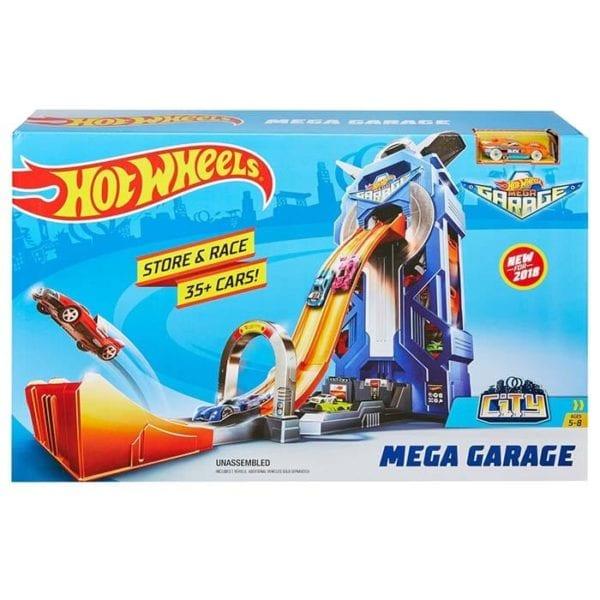 HW Mega Garage Giratorio