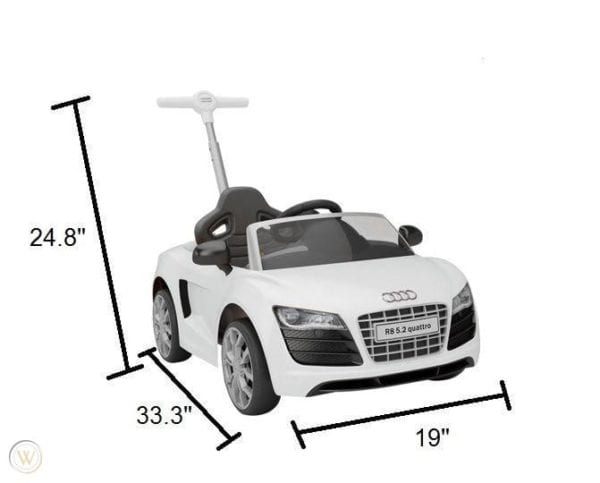 Audi Push Car con Canopy