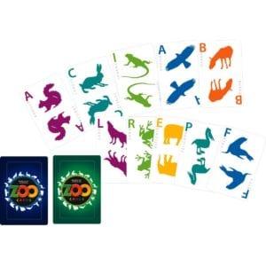 concepto 3d zoo cards