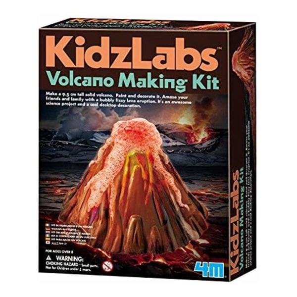 volcano making kit Kidz Labs