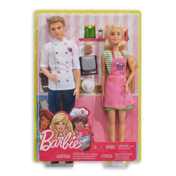 barbie y ken chef