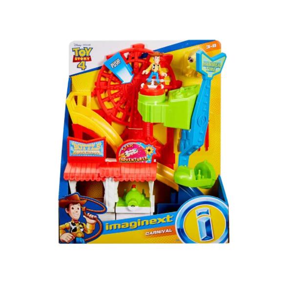 parque de diversiones toy story imaginext
