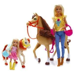 Barbie Chelsea Diversión de Caballos