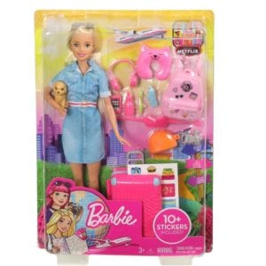 Barbie Explora y Descubre Barbie Viajera