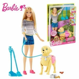 Barbie Paseo De Perritos