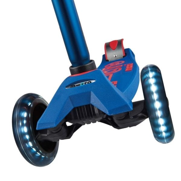 Patineta Micro Deluxe Blue LED Micro Colombia