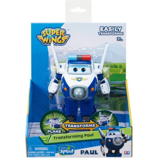 Super Wings Figura Transformable Paul