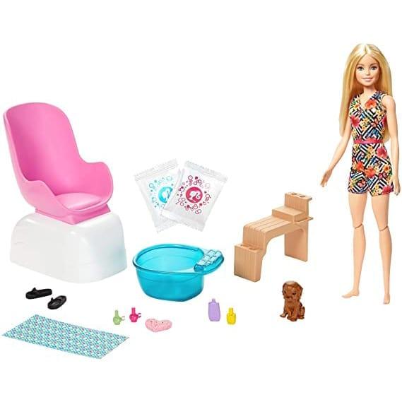 Barbie Mani / Pedi Salón