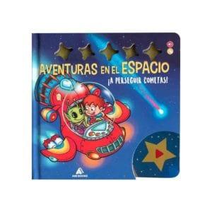 Libro Aventuras en el Espacio a perseguir cometas