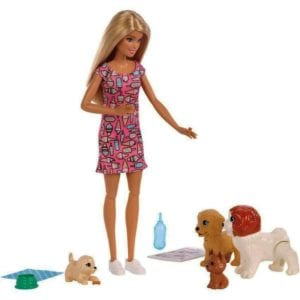 Barbie Guardería de Perritos
