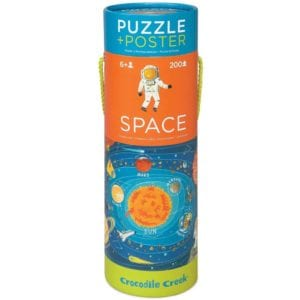 200 PUZZLE POSTER/SPACE