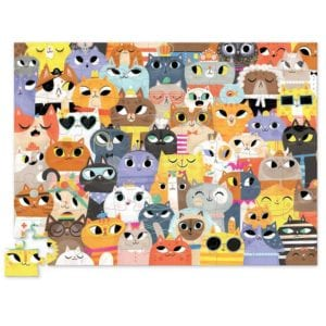 72 PC PUZZLE-LOTS OF CATS