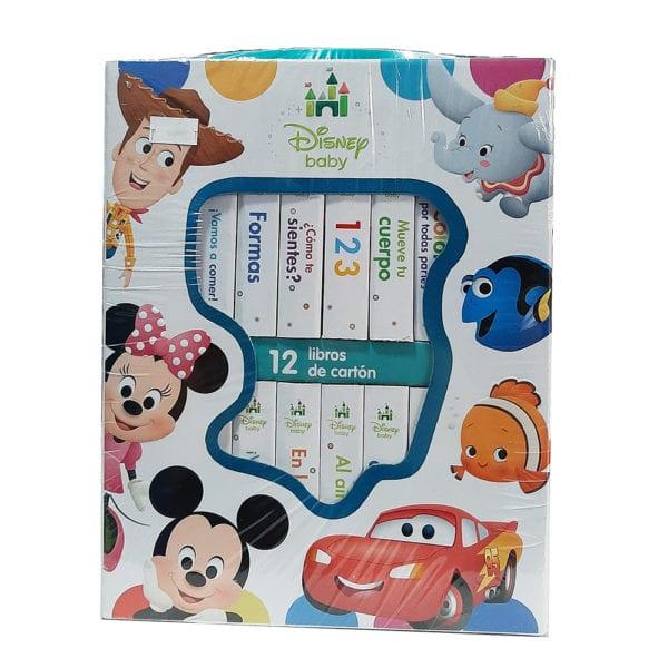 disney baby 12 libros de carton