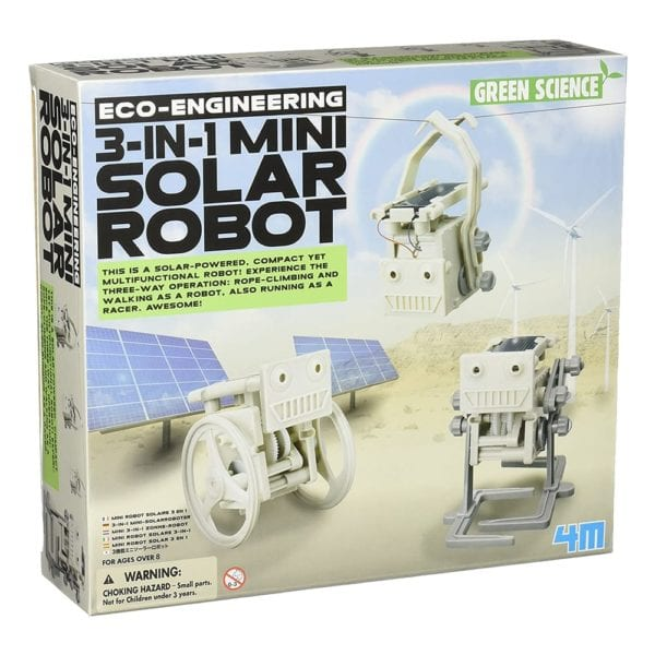 ECO ENGINEERING / 3-IN-1 MINI SOLAR ROBOT