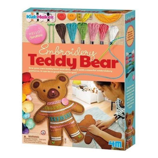 EMBROIDERY TEDDY BEAR 4M