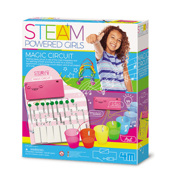 PAPER CIRCUIT-GIRL STEAM 4M