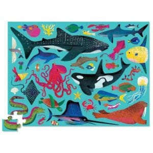 72 PC PUZZLE/SEA ANIMALS