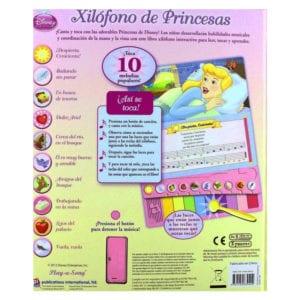 libro xilofono de princesas