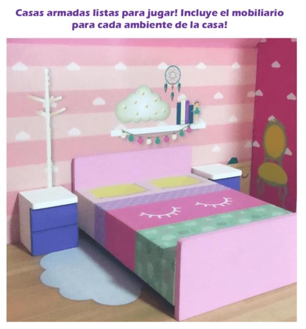 Casita de Muñecas en Madera