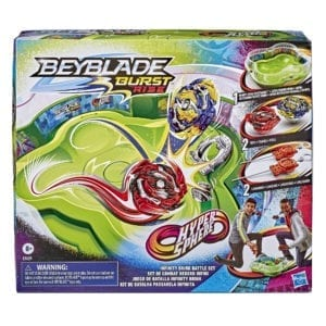 Estadio Bey Blade Burst Rise Hypersphere Infinity Brink Battle Set 1