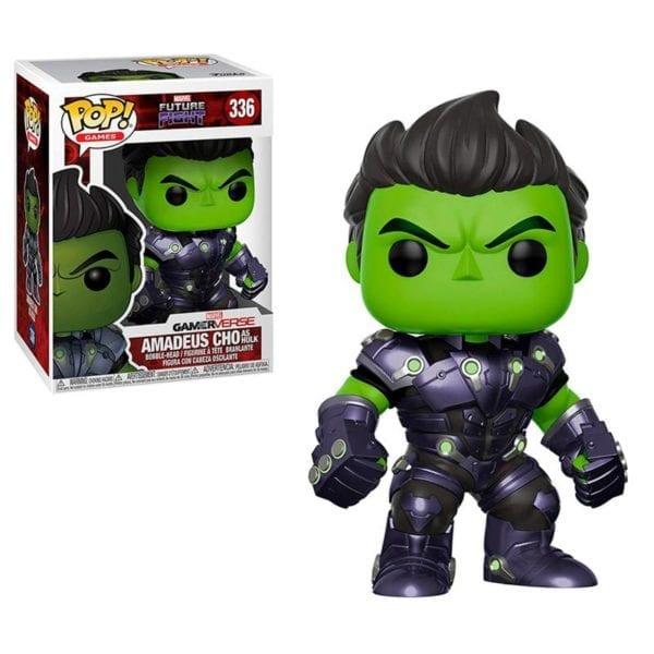 funko pop amadeus cho as Hulk
