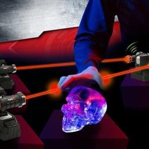 Trampa con rayo Laser para Espiar