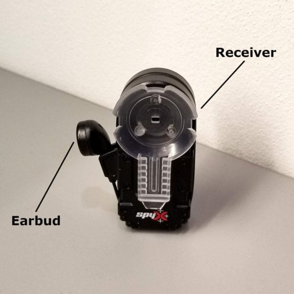 Micrófono para espiar Spy X