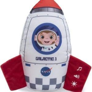 Mono Cohete Con luces y sonidos