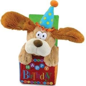 perro musical de cumpleaños