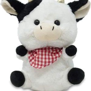 Vaca de la granja de Peluche