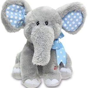 Elefante Musical Azul