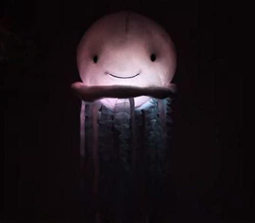 Medusa Con luces de arcoiris y sonidos del oceano