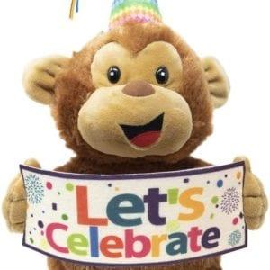 Mono que canta cancion de cumpleaños