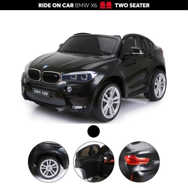 BMW X6 Montable para Niños de 2 Puestos 12V 6 en Colombia Comprar