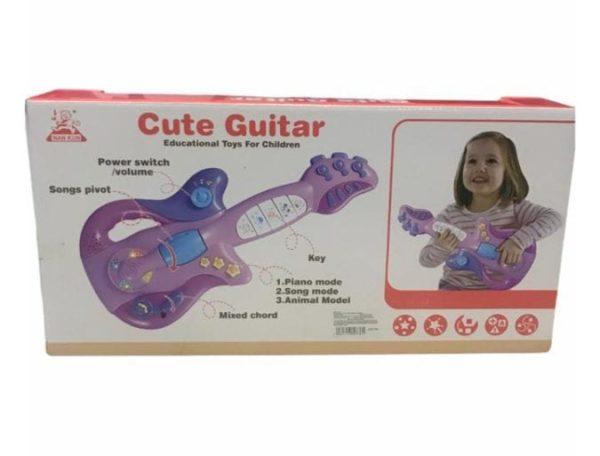 Guitarra Rosada Interactiva
