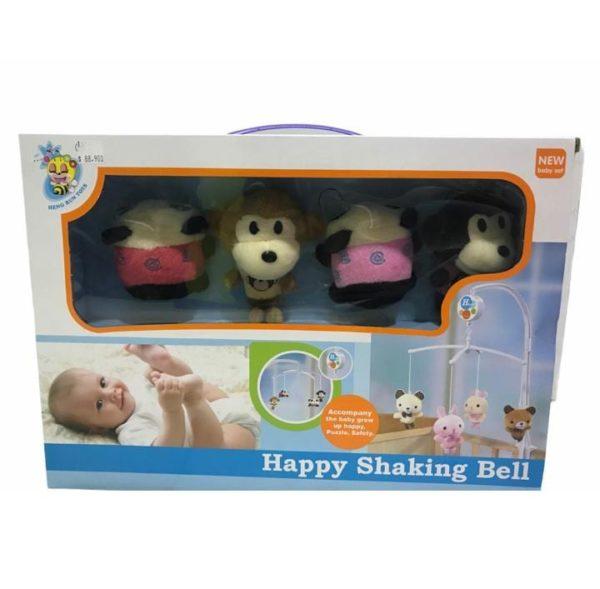 Movil para Bebe De Osos y Monos