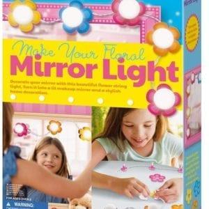 Crea tu Propio Espejo con Luz Floral 4M
