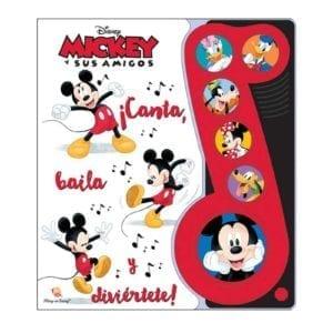 Libro Mickey y sus Amigos Canta, Baila y Diviértete