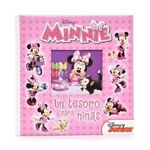 Libro Minnie Un Tesoro Para Niñas