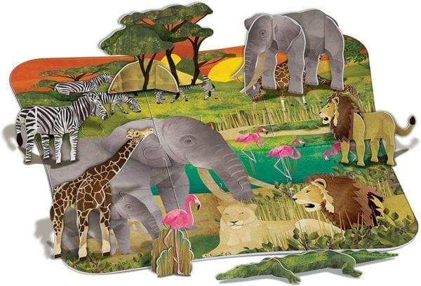 Rompecabezas 3D Amigos de La Naturaleza 4M