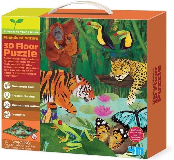 Rompecabezas 3D Amigos de La selva 4M