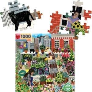 Rompecabezas Jardinería Urbana 1000 Piezas eeBoo