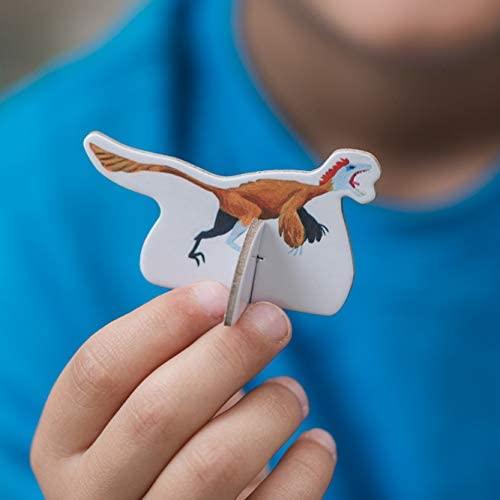 Rompecabezas Descubriendo Dinosaurios 100 Piezas y 21 figuras